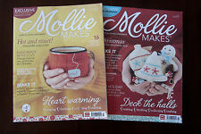 Mollie Makes craft magazine Issues in lots of 2, Printed in  UK