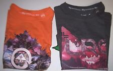 NEW LRG Lifted Research Group short sleeve t shirt boys gray or orange  4 5 6