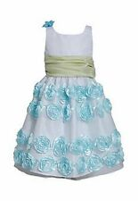 BONNIE JEAN® Girl's 5-6X Mint Bonaz Soutache Dress *NWT $72