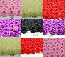 100 Roses Artificial Heads Wedding Suppliers Decorations Crafts Gift Flowers Lot