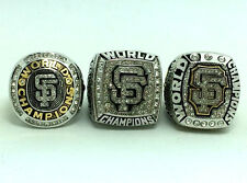 3/PCS Solid Ring SET 2010-2012-2014 San Francisco Giants World Series Rings