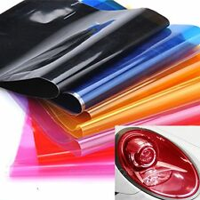 "12"" x 24"" Car Smoke Fog Light Headlight Taillight Sticker Tint Vinyl Film Sheet"