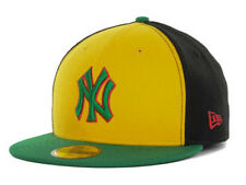 New York Yankees MLB World Block New Era 59Fifty Flat Bill Brim Hat Cap Lid NY