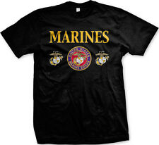 Marines - United States Marine Corps Support Proud Mens T-shirt