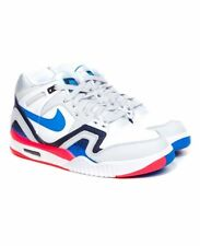 "Nike Air Tech Challenge 2 ""Pixel Court"" 318408-101 White/Photo Blue Andre Agassi"