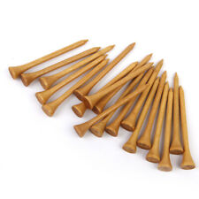 100pcs Professional Wooden Burlywood Golf Tees Standard 54/69/83MM Long NEW Gift