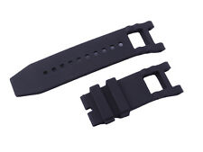 New Black Silicone Rubber  Watch Band Strap For Invicta Subaqua Noma
