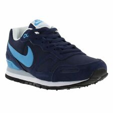 New Nike Air Waffle Mens Blue Trainers Shoes Size UK 8-11