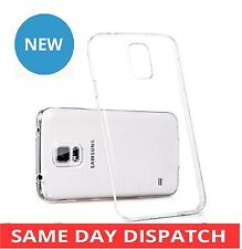 Crystal Clear Soft Shell Rubber TPU Gel Case Back Cover For Samsung Galaxy