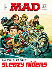 MAD Magazine #135 - June 1970 - Cover Poster