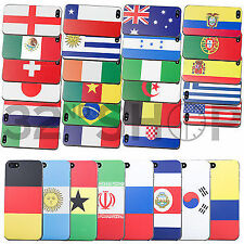 Nazionale bandiera Custodia cover Per iPhone 4 4S 5 5S Samsung Galaxy S4 i9500