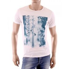 Diesel - T-Shirt Nightmare blanc homme coupe droite