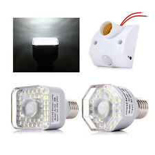 E27 PIR Infrared Motion Sensor Detector Light Switch Base Lampholder Bulb Socket