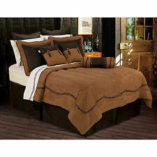 HiEnd Accents Embroidered Barbwire 6-piece Comforter Set