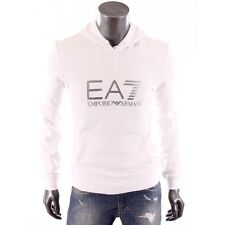 EA7 - Armani train - Sweat à capuche blanc homme 274377 5A259