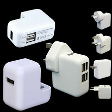 2/4 Port USB Portable Travel Wall Charger AC Power Adapter with AU EU US UK Plug