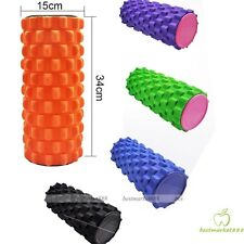 Trigger Point EVA Foam Roller for Massage Yoga Pilates Home Gym 34x15cmFitness**