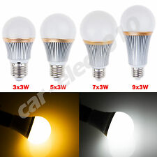 Dimmable 9W/15W/21W/27W E27 SMD LED Bulb Globe Light Spotlight Warm/Cool White