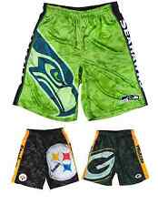 NFL Football Team Logo Polyester Big Logo Shorts - S-2XL - Pick Your Team!