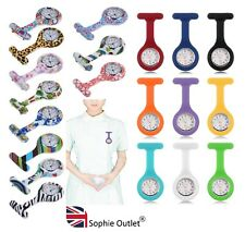 New Fashion Silicone Nurse Watch Brooch Tunic Fob Watch Medical Watch Doctor