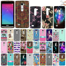For LG Leon C40 H320 H340 H345 L22C L21G LS665 ZigZag TPU Soft Rubber Case Cover