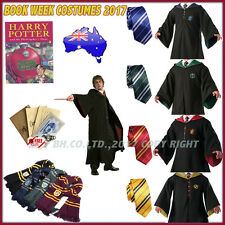 Harry Potter Adult Gryffindor/Slytherin/Hufflepuff/Ravenclaw Cosplay Robe & Tie
