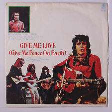 GEORGE HARRISON: Give Me Love (give Me Peace On Earth) +3 45 (Thailand, PC sl c