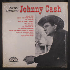 JOHNNY CASH: Now Here's Johnny Cash LP (Mono, shrink) Country