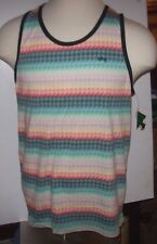 NEW LRG Lifted Research Group sleeveless tank top shirt multi-color LARGE L