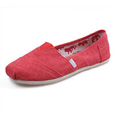 Women Espadrilles Bamboo Lines Comfy Casual Flat Leisure Solid Canvas Shoes Hot