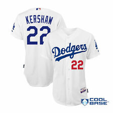 Clayton Kershaw Los Angeles Dodgers White Cool Base Jersey