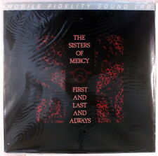"SISTERS OF MERCY: First & Last & Always LP Sealed (limited numbered edition, ""S"