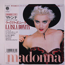 MADONNA: La Isla Bonita / Instro 45 (Japan, PS) Rock & Pop