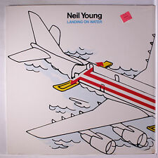 NEIL YOUNG: Landing On Water LP Sealed Rock & Pop