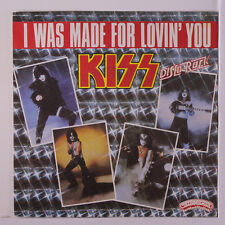 KISS: I Was Made For Lovin' You / Hard Times 45 (France, textured cover PS very