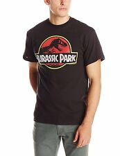 Jurassic Park Classic Logo Officially Licensed Adult T-shirt