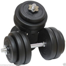 30KG Dumbbell Set Weight - Gym Workout - Biceps Triceps - Weights Training TNP®