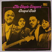 STAPLE SINGERS: Gospel Gold LP (ES, some cover wear, small writing on cover) Bl