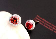 Inclusion Free Swarovski Colour Crystal Stud Solid Fashion Earrings 18K Gold GF