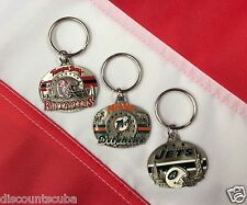 NFL pewter key chains Miami Dolphins New York Jets Tampa bay Buccaneers novelty