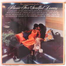CECIL HOLMES SOULFUL SOUNDS: Music For Soulful Lovers LP Sealed (reissue) Soul