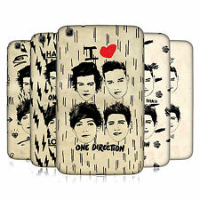 OFFICIAL 1D DOODLE GRUNGE HARD BACK CASE FOR SAMSUNG GALAXY TAB 3 8.0 T310