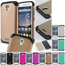 For Alcatel One Touch Pop Astro Hybrid Hard Astro Armor Case Skin Phone Cover