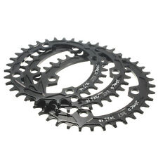 MTB Road Bike Bicycle Single Oval Chainring Change Tooth For 104BCD-32, 34, 36T