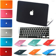 Hard Rubberized Case + Keyboard Cover For MacBook Pro 12 Air 13 11 Pro 15 Retina