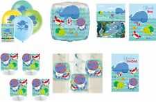 1st FIRST BIRTHDAY BOY / BOYS PARTY DECORATIONS UNDER THE SEA PALS SEA CREATURES