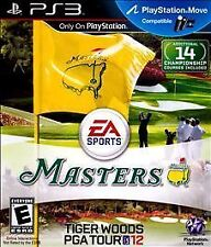 Tiger Woods PGA Tour 12: The Masters Sony PS3 Game