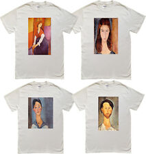 Modigliani Paintings - Leopold  - Louise -  Jeanne Hebuterne - Men's T-shirt