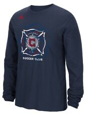 """Chicago Fire Adidas MLS """"Prime Time II"""" Long Sleeve T-Shirt"""