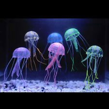 Beauty Artificial Jellyfish Decor Glowing Effect for Aquarium Fish Tank Ornament